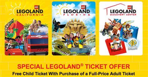 legoland  child ticket    adult ticket