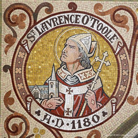 feast  st laurence otoole bishop holy family