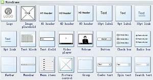 Wireframe Software Symbols