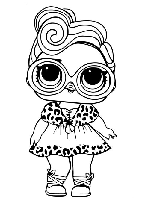 printable lol doll coloring pictures dollface baby coloring pages coloring pictures