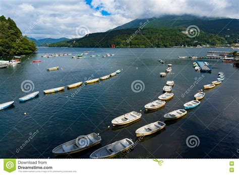 Fishing Boat Cruise by Cruise Ship Fishing Boats Royalty Free Stock Photo