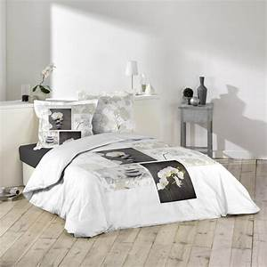 Parure De Lit Zen : parure de lit 3 pi ces orchidea zen 240x260cm ~ Teatrodelosmanantiales.com Idées de Décoration