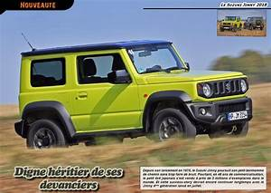Suzuki Jimny Essai : offroad 4x4 magazine toutes nos news ~ Medecine-chirurgie-esthetiques.com Avis de Voitures