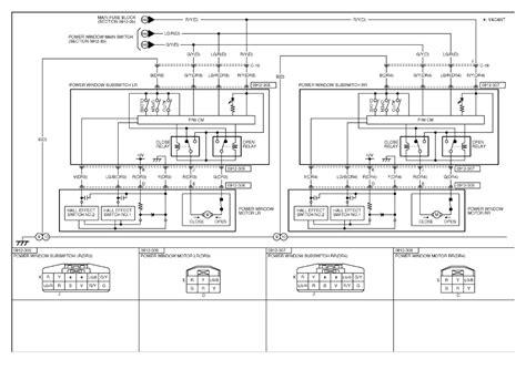 2006 Mazda 3 Wiring Diagram by Repair Guides Power Windows 2006 Power Window