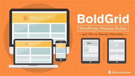 Wordpress Website Builder boldgrid wordpress  wix  weebly alternative 987 x 553 · png