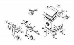 Mgb Pedal Box Assembly