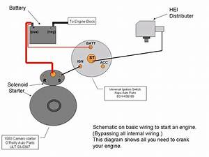 Chevy 400 Sbc Starter Wiring Diagram