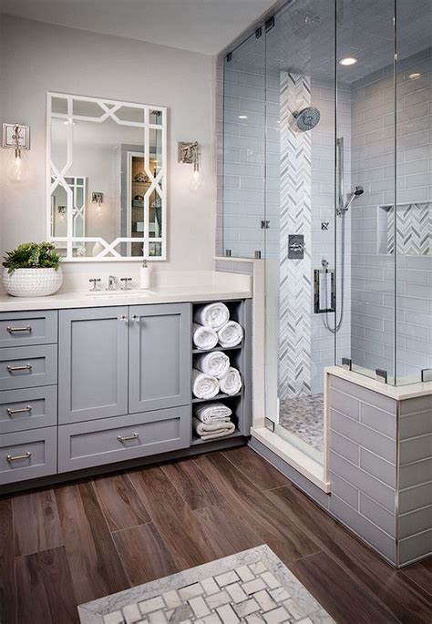 grey bathroom tiling grey tiles heringbone accent tile