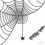 Spider Web Corner Coloring Pages Spiderweb Simple Halloween Borders Printable Pumpkin Graphics Cool2bkids Clipartmag Getcolorings sketch template