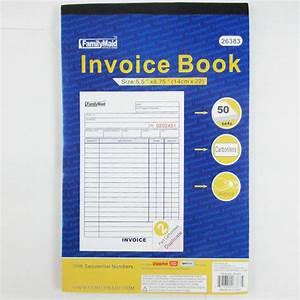 adams 2 part carbonless invoice book walmartcom With adams carbonless invoice books