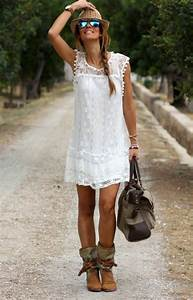 comment adopter le style boheme chic robe boho and With robe hippie chic courte