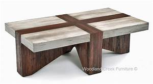 rustic chic mountain modern coffee table eco friendly With barn style coffee table