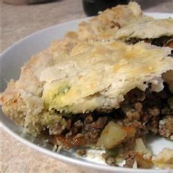 pie mixture recipes a mixture of ground beef ground pork carrot celery potato for the savory wedded with spices