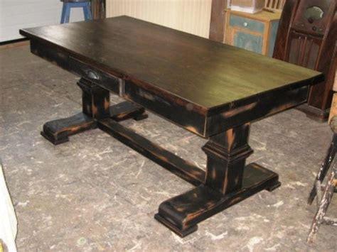 modele de table de cuisine en bois table de cuisine dessus en vieux bois n 1010 le géant