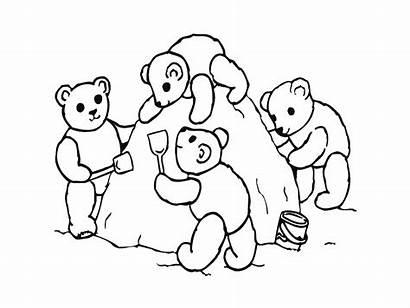 Coloring Pages Friendship Friends Bear Friend Printables