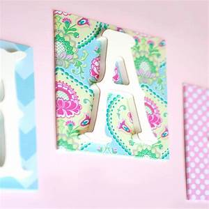 custom fabric love wall letters girl by new arrivals inc With girls wall letters