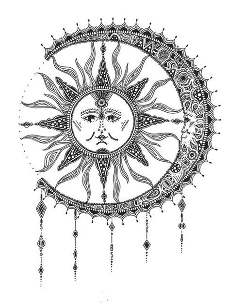 58+ Sun And Moon Tattoos Ideas With Meanings