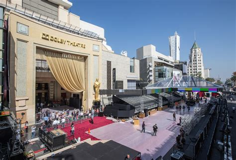 Oscar Preview: Behind The Scenes At Dolby Theatre