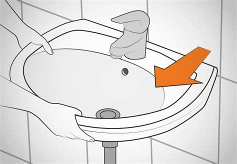 Waschbecken Montieren Höhe by Waschtisch Anbringen Obi Ratgeber