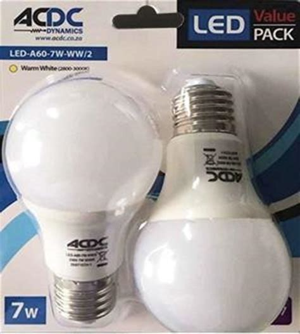 led bulb 5w 7w e27 value pack future light led