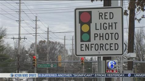 Light Cameras Nj by End Is Near For Light Cameras In New Jersey 6abc