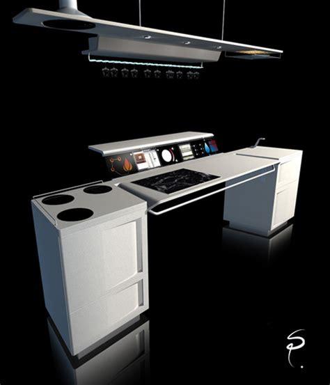 future kitchen design all in one kitchen by sebastien poupeau yanko design 1144
