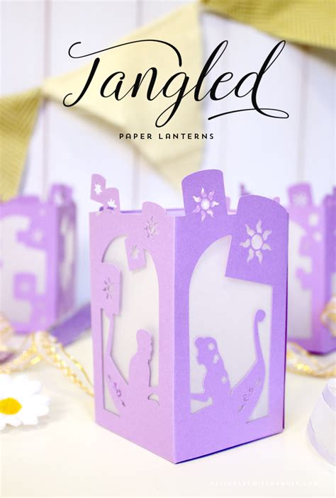 tangled paper lantern designs   mandee