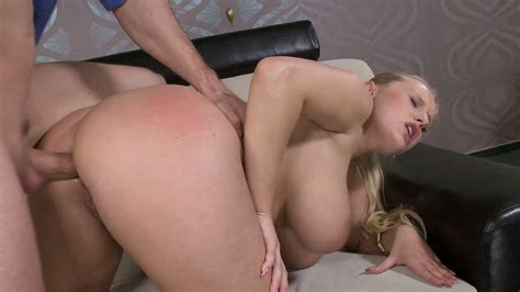 Passionate Sex With Mega Busty Blonde Chick Angel Wicky