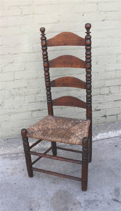early 18th century new ladder back side chair for