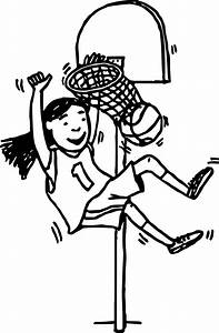 Basketball Coloring Pages Basketball Scores
