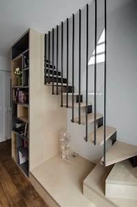 Garde Corps Escalier Interieur : rampe escalier interieur moderne rampe escalier interieur ~ Dailycaller-alerts.com Idées de Décoration
