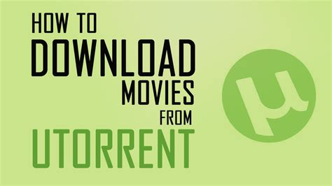 How To Download Movies From Utorrent 2015 Youtube