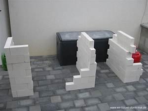 Outdoor Küche Bauen : sockel f r die outdoor k che ist gemauert wir bauen dann mal ein haus ~ Markanthonyermac.com Haus und Dekorationen