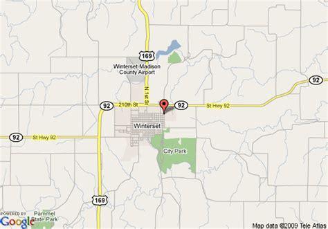 Map Bridges Madison County Iowa