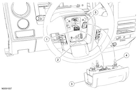 service manual   replace airbag  ford econoline