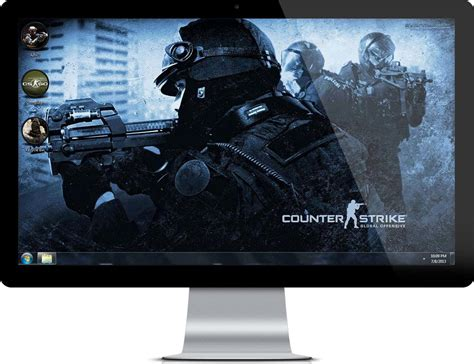counter strike global offensive theme with hd wallpapers