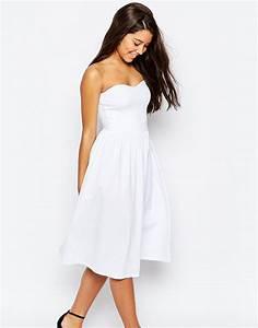 La robe plan b de votre mariage civil ou robe du lendemain for Robe mi longue asos