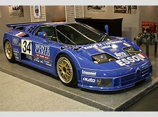 1994 Bugatti EB 110 SS Le Mans Images, Specifications