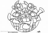 Clash Royale Coloring Pages Musketeers Three Clowery Adam Printable sketch template