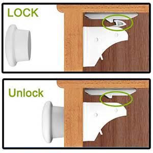 child lock invisible magnetic locking system 4 locks 1