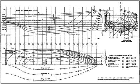 Dessiner Plan Bateau by 2 Surfaces Et Techniques De Tra 199 Age Pour Une Coque En