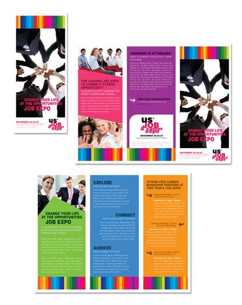 Career Brochure Template by Expo Career Fair Tri Fold Brochure Template