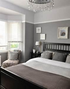 Schlafzimmer Grün Grau : 1001 ideen f r schlafzimmer grau gestalten zum entlehnen ~ Markanthonyermac.com Haus und Dekorationen