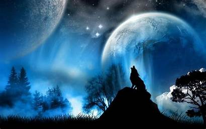 Moon Desktop Cool Background Wallpapers Backgrounds Night