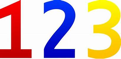 123 Numbers Clip Colorful Sweetclipart