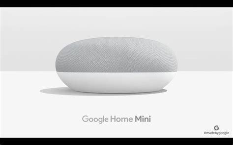 Google Home Mini : Google Announces Home Mini For A Smaller Home Assistant