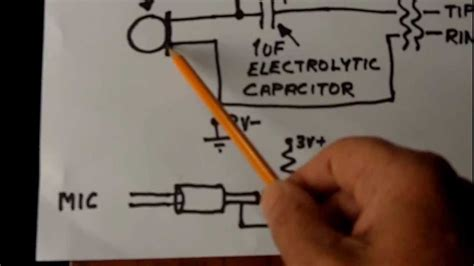 electret condenser microphone wiring youtube