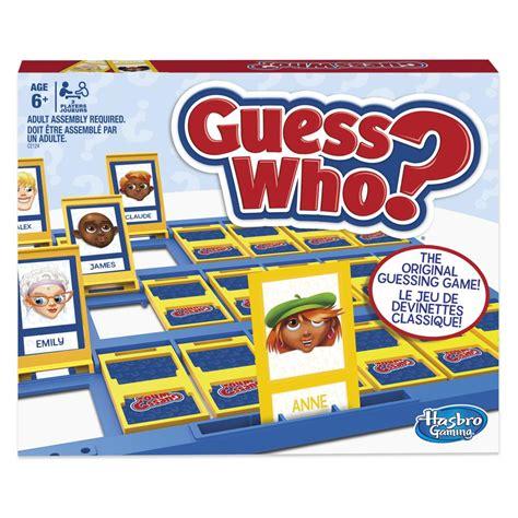 jeu guess who classique jouet achat de jeux et