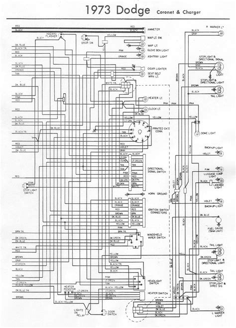 73 Challenger Wiring Diagram by I A 1973 Dodge Charger With A 440 Magnum I Recently