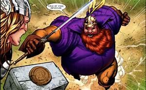 Thor vs Sif, Val, Warriors Three, Balder, Heimdall, Tyr ...